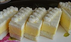 Bread Dough Recipe, Fun Deserts, Czech Recipes, Sweets Cake, Mini Cheesecakes, Pastry Cake, International Recipes, No Bake Cake, Amazing Cakes