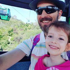 ...paseando con papá #cosasdeniña #cosasdepapa #teleferico