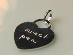 Sweet pea charm