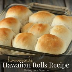 This kings hawaiian rolls recipe is easy to make and they actually taste like the real kings hawaiian rolls.