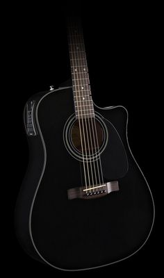"""Don got me this guitar when I played in our Church band """"Endeavor"""" Love it. ,Fender Cd-110ce Acoustic Electric Guitar Black 