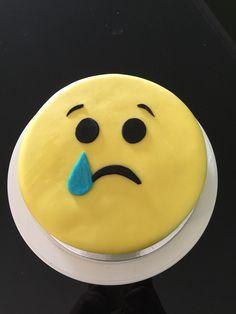 Farewell Emoji cake