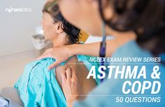 Another 50-item NCLEX style exam that covers the diseases affecting the Respiratory System. These questions will challenge your knowledge about the concepts behind Bronchial Asthma, COPD, Pneumonia and many more.