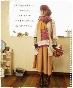 knitting/fashion/mori girl/Japanese