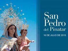 Mañana como cada 16 de julio en San Pedro del Pinatar, romería terrestre y marítima. Fiesta declarada de Interés Turístico Regional desde 1965 => http://www.murciaturistica.es/es/evento/fiestas-de-la-virgen-del-carmen-M421230/?utm_source=Pinterest&utm_medium=Redes%20Sociales&utm_campaign=Fiestas%20de%20la%20Virgen%20del%20Carmen
