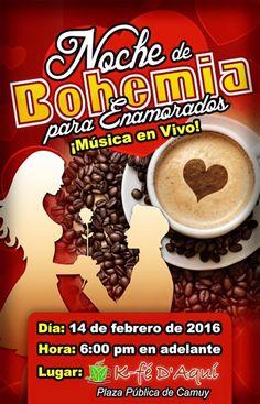 Noche de Bohemia para Enamorados #sondeaquipr #nochebohenia #kfedaqui #camuy