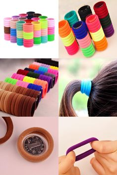 [Visit to Buy] 100pcs Styling Braid Elastic Hair Rubber Ring Scrunchie Ponytail Holder Hair Accessories Gum Hair Rope Ties Hairdressing Stylist #Advertisement