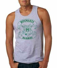 272 Hogwarts Alumni Mens Tank Top Harry Potter Wizard Magic New All SizesColors | eBay