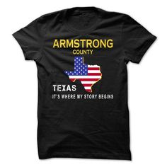 Awesome Tee ARMSTRONG - Its Where My Story Begins T shirts