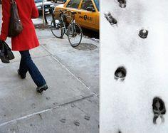 Animal Footprint Shoes by Maskull Lasserre   Bored Panda
