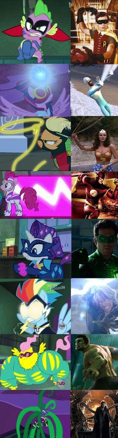 Holy Copy-Cat Personas, Ponies!