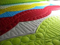 colors, style, and quilting are amazing on this one!
