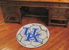 """27"""" Round Kentucky Wildcats Soccer Mat (with """"UK"""")"": For all those Kentucky Wildcats Fans out there:… #Sport #Football #Rugby #IceHockey"