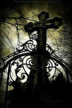 Beautiful gothic cross