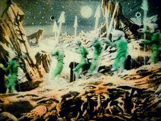 Le Voyage dans la Lune (Georges Melies 1902) Tableau 10