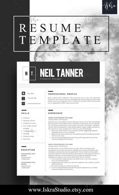 Buy One Get One Free Resume Template Resume Word Resume Cv
