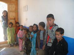 www.acciongeoda.org   MariaJ at the school. #educacion #cooperacion