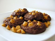 butterscotch toffee fudge cookies