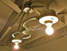 Figure Eight - Handcrafted Galvanized Interior Industrial-Loft-Minimalist Ceiling Light
