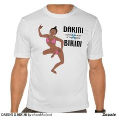 DAKINI X BIKINI TEE シャツ, Asia ethnic T-shirt.  Summer vacation of the Goddess. (Tibet, India, Japan)