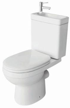 Cooke & Lewis Duetto White Toilet & Basin, 5052931072217