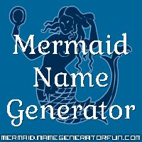 Mermaid name generator. Mine is plankton estuary dancer...not as cool as I had hoped it would be