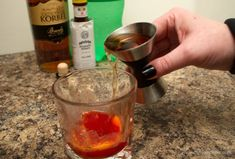 Wisconsin's version of the Old Fashioned cocktail, the brandy old fashioned! It can be sweet or sour but it's a simple recipe either way. Brandy Old Fashioned, Old Fashioned Recipes, Old Fashioned Cocktail, Brandy Old Fashion Recipe, Types Of Alcoholic Drinks, Alcohol Drink Recipes, Christmas Albums, Signature Cocktail, Yummy Drinks