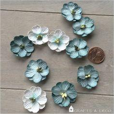 Tischdecko+Streuteile+Blüten,+10+Stück+von+Crafts+&+Deco+auf+DaWanda.com