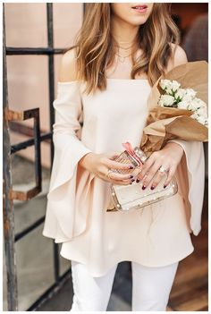 @janawilliamsxo  mothers day fragrance story with @margoandme @chloe @whowhatwear Chic blogger style hollywood Ca pink bell selves
