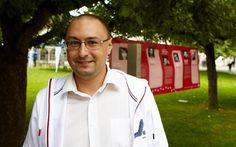 Festival author Nikolaj Ponomarev from Russia
