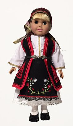 Mecadonia Costume American Girl Doll by EllinikiStoli on Etsy Ag Doll Clothes, Doll Clothes Patterns, Doll Patterns, Ava Doll, Girl Dolls, Doll Costume, Girl Costumes, American Girl Clothes, American Girls