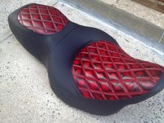 Up for sale Road King Seat Motorcycle Seats, Bike Seat, Motorcycle Paint, Harley Davidson Seats, Harley Davidson Bikes, Hd Street Glide, Automotive Upholstery, Leather Seat Covers, Leather Skin