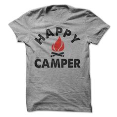 Happy Camper Campfire T-Shirt, Women's Fit T-Shirt, Hoodie, Tank Top Buy more than 1 item and save big on shipping