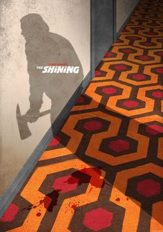 The shining poster alternative movie poster wall art horror poster horror movie gothic decor man cave art jack nicholson poster gift ideas cool way to do movie posters works on some of them doesn t on others see john wick one Horror Movie Posters, Cinema Posters, Movie Poster Art, Poster Wall, Horror Movies, Posters Diy, Comedy Movies, Arte Horror, Horror Art