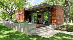 The Cousin Cabana, a lakeside cabin outside Austin, Texas. A home that perfectly blends modern and traditional into a cozy 480 square foot retreat.