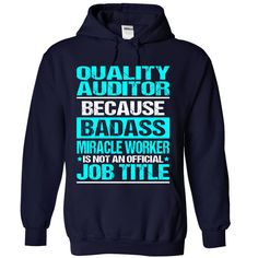 Awesome tee for Quality Auditor