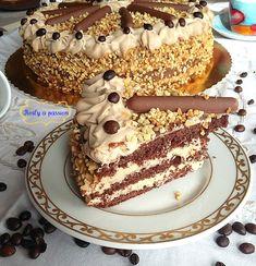 Torta al caffè e mascarpone Healthy Cake Recipes, Sweet Recipes, Dessert Recipes, Italian Cake, Italian Desserts, Cappuccino Torte, Torte Cake, Cake With Cream Cheese, Pastry Cake