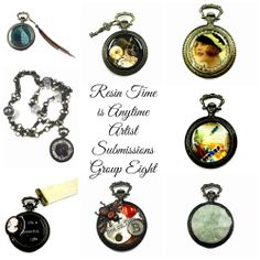 "The eighth post about ""Resin Time is Anytime"" project."