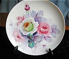 Occupied Japan Display Plate