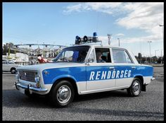Lada 1200 - Hungarian police car in the Blue Bayou, Car Badges, Rescue Vehicles, Military Vehicles, Police Vehicles, Emergency Vehicles, Police Cars, Law Enforcement, Fire Trucks