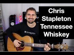 """Chris Stapleton """"Tennessee Whiskey"""" Guitar lesson - YouTube"""