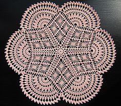 Ravelry: Figure Doily pattern by Priscilla Publishing Company Free Crochet Doily Patterns, Filet Crochet Charts, Crochet Lace Edging, Crochet Circles, Thread Crochet, Crochet Doilies, Crochet Table Runner, Crochet Tablecloth, Crochet Home