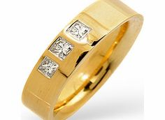 Ampalian Jewellery 18 Carat Gold Diamond Wedding Ring (167) An enthralling 18 carat gold wedding ring set with a quarter of a carat of high quality- H/Si- http://www.comparestoreprices.co.uk/mens-jewellery/ampalian-jewellery-18-carat-gold-diamond-wedding-ring-167-.asp