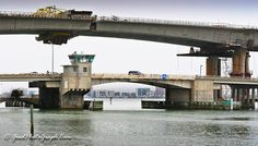 Draw And No Draw - Old And New Bridges To Clearwater Beach by GoodPhotoGraph.Com, via Flickr