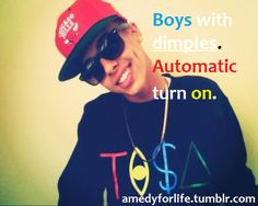 Boys With Swag | boys with dimples | Tumblr
