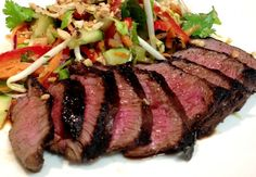 Sugar & Spice and All Things Nice: lime & honey venison with a thai salad