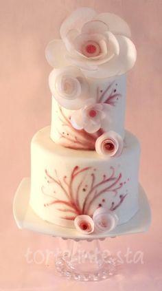 pink spring - Cake by Torteintesta di Silvia Riboldi