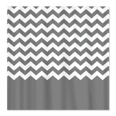 Amazon.com: chevron pattern gray Shower Curtain by CafePress - White: Home & Kitchen
