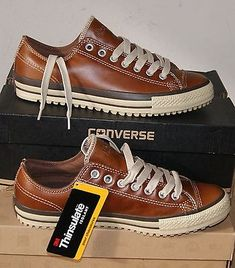 NEW AUTHENTIC CONVERSE ALL STAR CHUCK TAYLOR LEATHER BOOT OX MEN'S 9