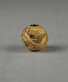 Carved Bead | Japan | The Met